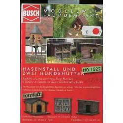 Rabbit Hutch and Dog Houses