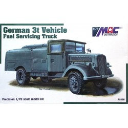 German 3t Vehicle Fuel Servicing Truck