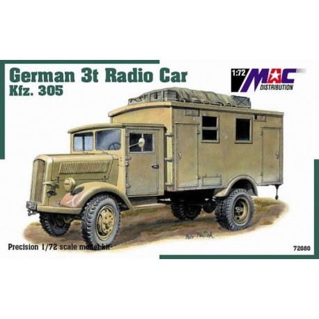 German 3t Radio Car
