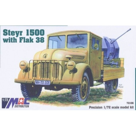 Steyr 1500 with Flak 38 1944