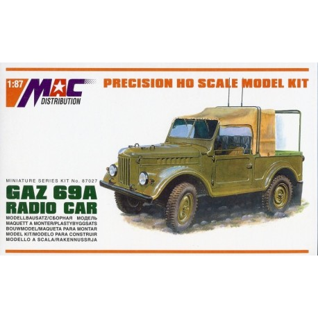 GAZ-69A 4x4 Radio Car